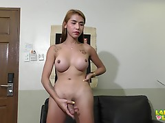 Two words that best describe Jen, hot and delicious. She exudes sexuality with a very sexy body and a look of a genuine beauty. Watch Jen as she shares us one of her favorite past time in front of Jud`s lenses. Enjoy!