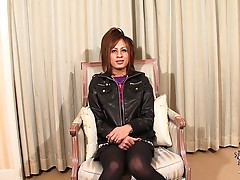 Presenting Reina Sezaki! This cute and rockstar chick is a knockout doll. She boldly displays her hot body on cam and she also shown us her lovely ass and her sweet uncut cock. As she gets playful with camera, she teases us with her mouth watering poses a
